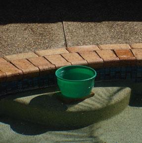 Leak Spotters Gold Coast Plumbers Bucket Test - The Bucket Test